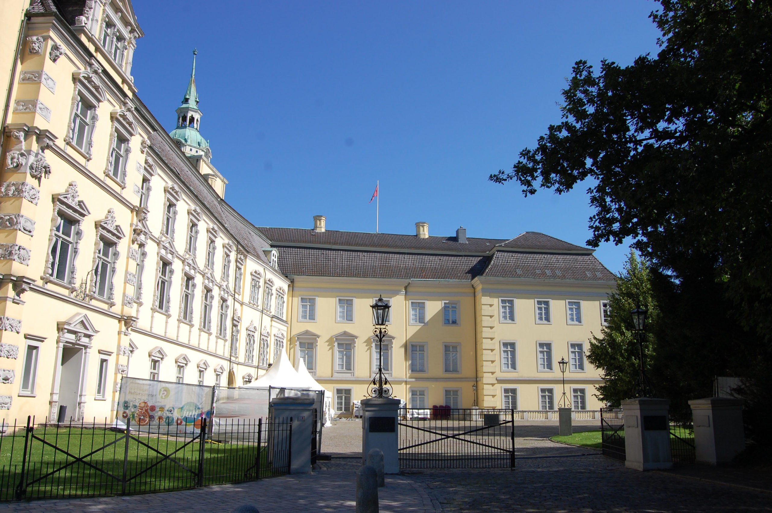 Innenhof Oldenburger Schloss